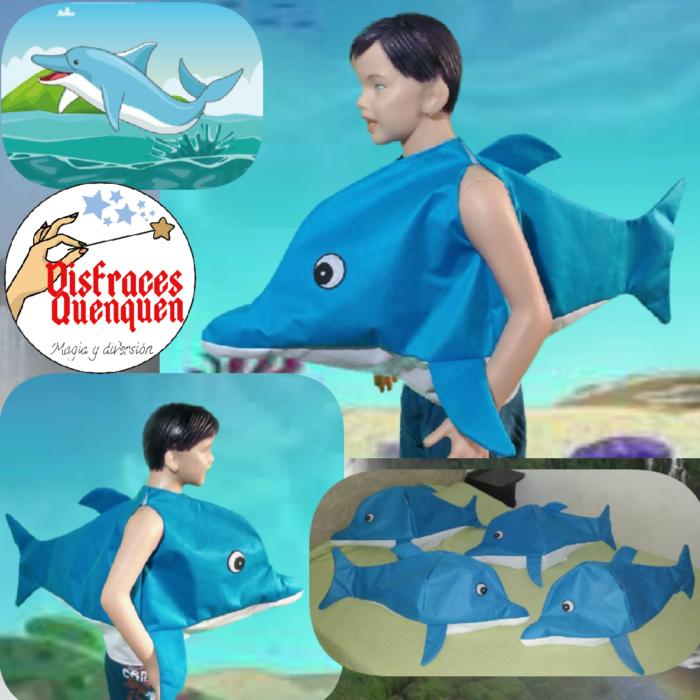 Disfraz de Delfín y de Peces