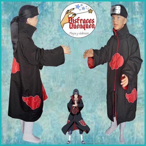 Disfraz de Akatsuki (de Naruto)