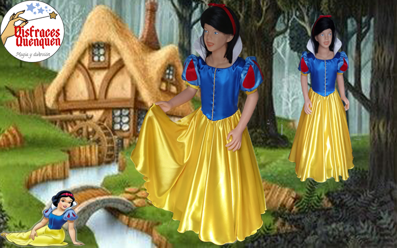 Disfraz de Blancanieves